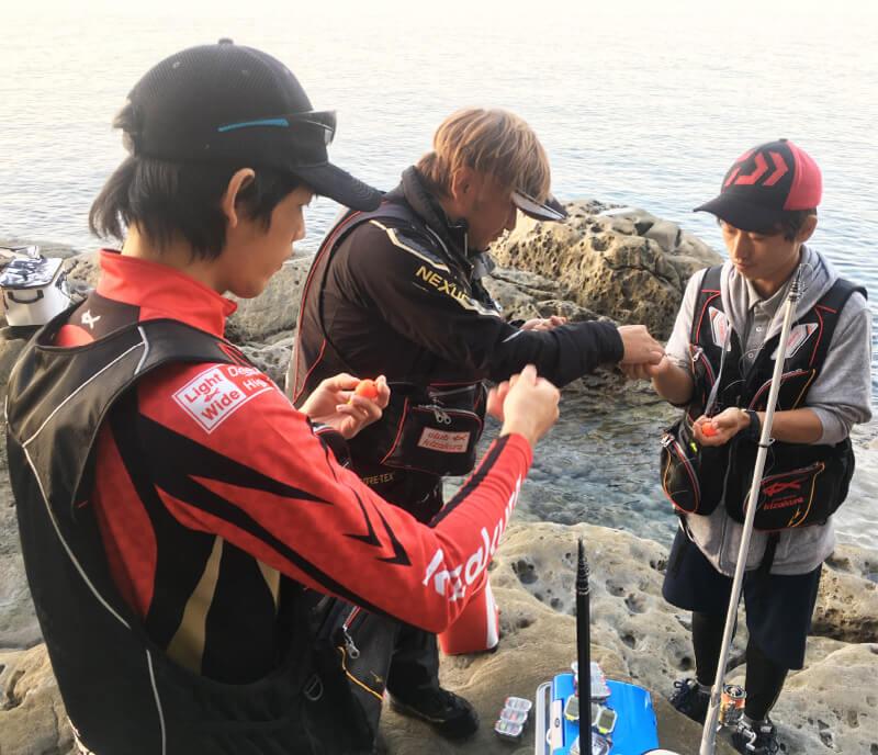 釣りのまるきん研修制度